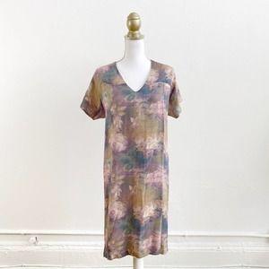 Rachel Comey Watercolor Silk Shift Dress